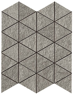 Klif Grey Triangles 28.5x33