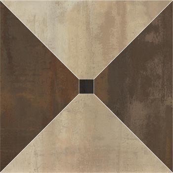 Trapecio Beige-Brown 60*60