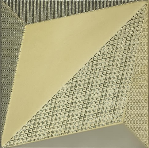 ORIGAMI GOLD 25x25