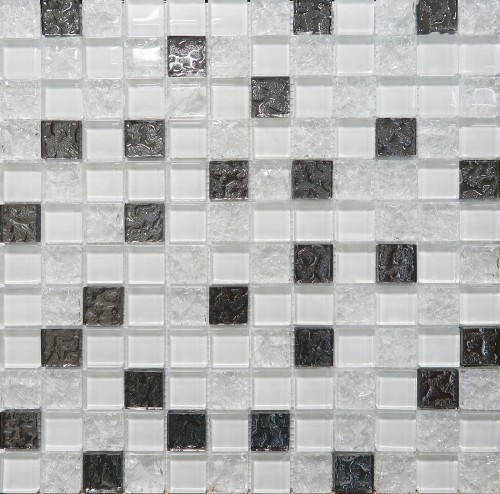 Mosaic Glass White DW7MGW00  30х30