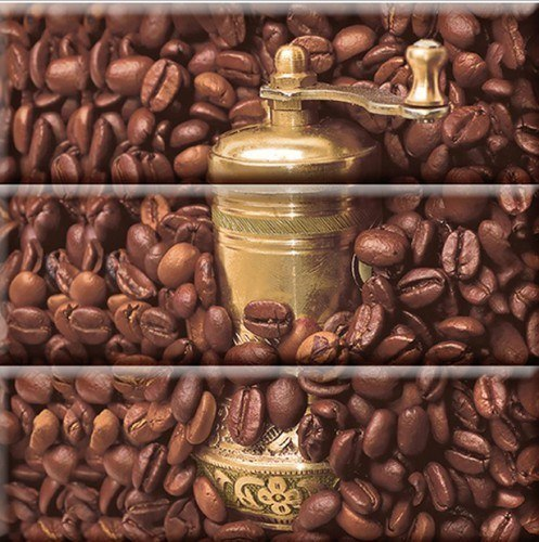Comp, Coffee Beans 01 30x30(комплект из 3-х шт,)