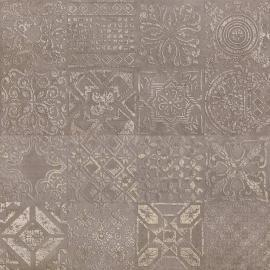 DEC.PATCHWORK BROWN LAPP.60X60