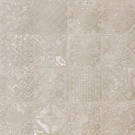 DEC.PATCHWORK BEIGE LAPP.60X60