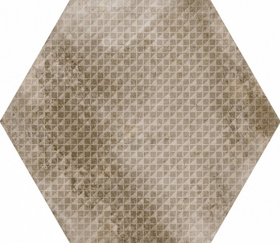 23602 Urban Hexagon Melange Nut 29,2X25,4