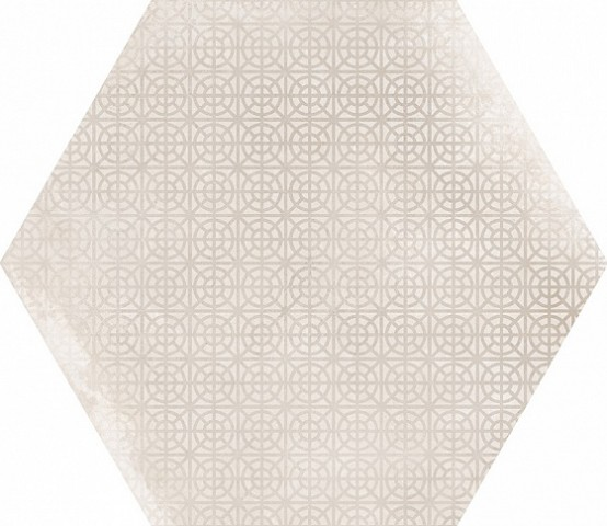 23601 Urban Hexagon Melange Natural 29,2X25,4