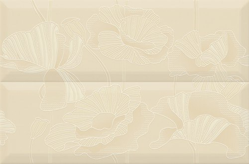 Composicion Gold Flowers 30x45