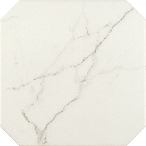 Octagon White 20x20