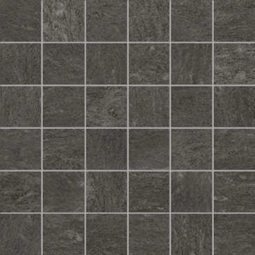 Apavisa Burlington Black Natural Mosaico 29.75x29.75