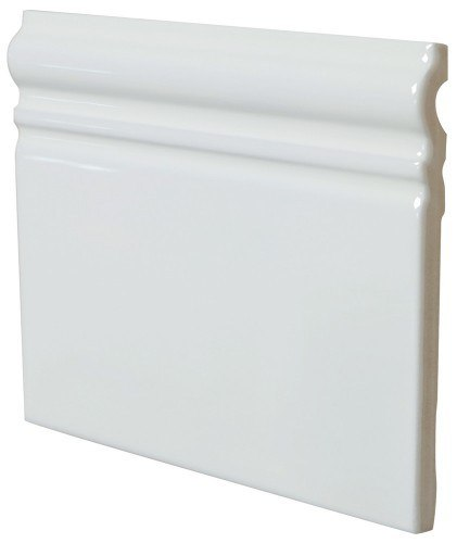 21015 Skirting Blanco Brillo 15*15