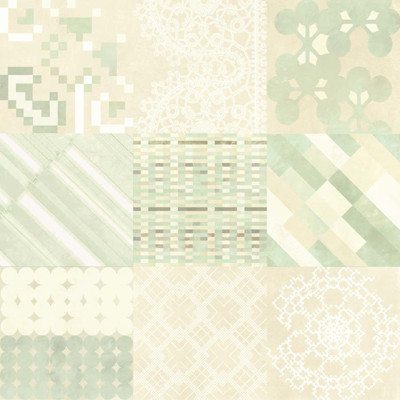 MUTINA AZULEJ COMBINATION BIANCO 20x20х1