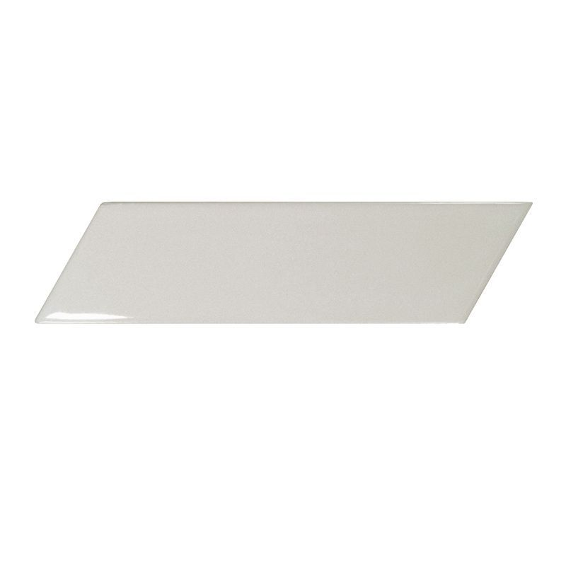 Керамическая плитка Equipe Chevron Wall Light Grey Left 5,2x18,6