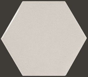 Hexagon Light Grey  10,7*12,4