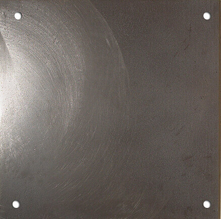 Apavisa Inox Chrome Graffiato Circle-4 59.55x59.55