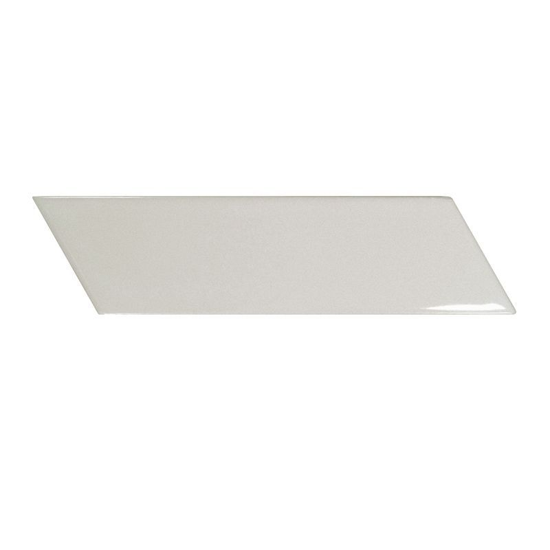 Керамическая плитка Equipe Chevron Wall Light Grey Right 5,2x18,6