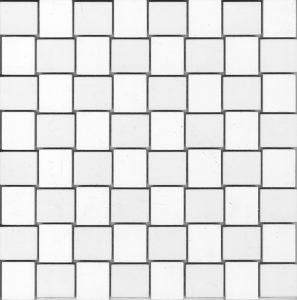 CROSS WHITE MOSAICO 29.75X29.75