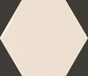 Hexagon Ivory 10,7*12,4