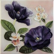VIOLETTA PLACA Decor  Morado 20*20