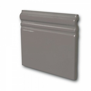 Керамическая плитка Equipe In Metro Skirting Gris Oscuro Brillo 15x15