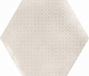 23605 URBAN HEXAGON MELANGE NATURAL ANTISLIP 29,2X25,4