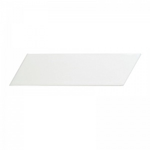 Керамическая плитка Equipe Chevron Wall White Left Matt 5,2x18,6
