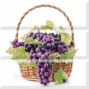 Comp, Grapes 03 A(корзина) 30x30(комплект из 3-х шт,)