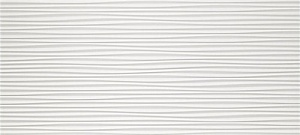 3D Flows White Matt (4D3F) 50X110