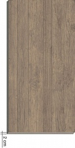 Axi Brown Chestnut ADU8 45x90 LASTRA 20mm