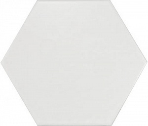 Hexatile Blanco Mate 17.5*20