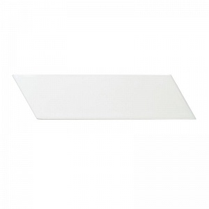 Керамическая плитка Equipe Chevron Wall White Right Matt 5,2x18,6