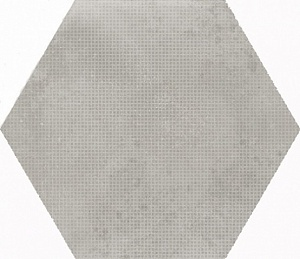 23603 Urban Hexagon Melange Silver 29,2X25,4