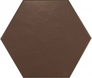Hexatile Marron Mate 17.5*20