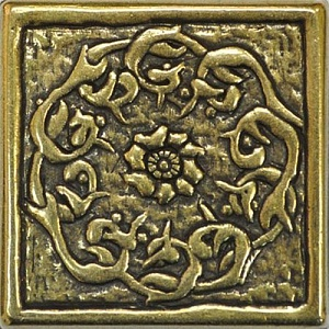 Flor Shined Brass 5x5